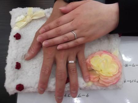 お客様 結婚指輪