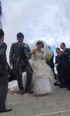 結婚式1  ブランカ