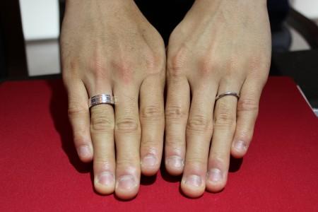 結婚指輪 大分 男性