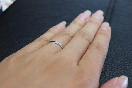 結婚指輪 大分 ②