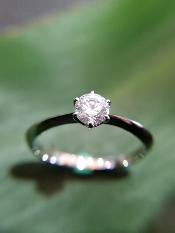 婚約指輪 ブランカ