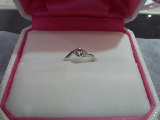 大分婚約指輪