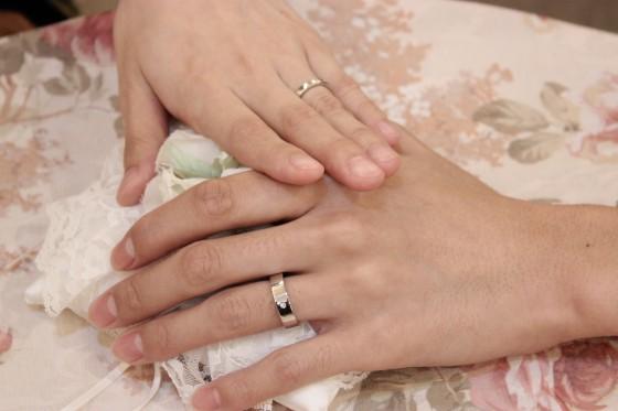 結婚指輪の完成!