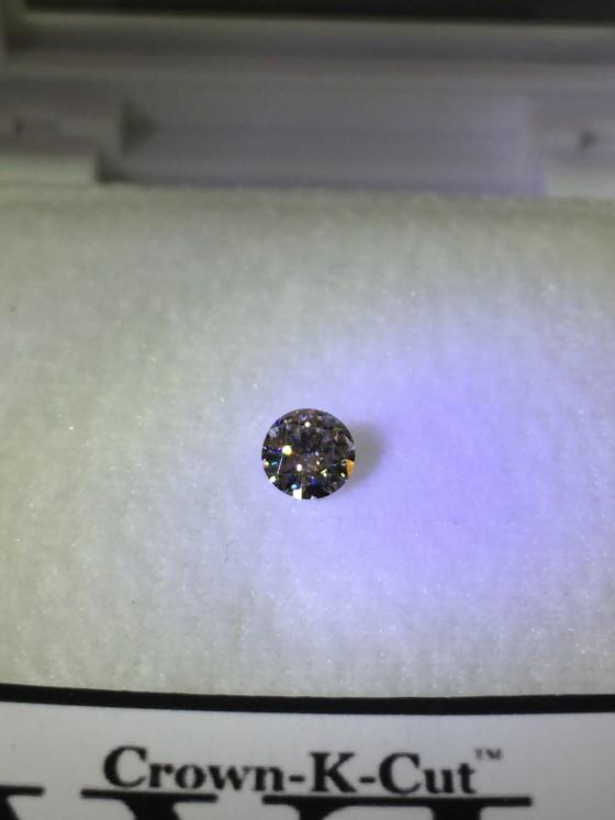 ギンギンに輝くダイヤモンド!