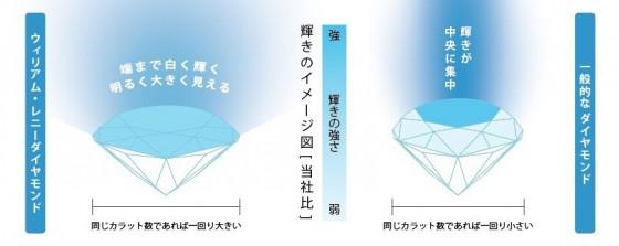 ウィリアムレニーダイヤモンドのイメージ