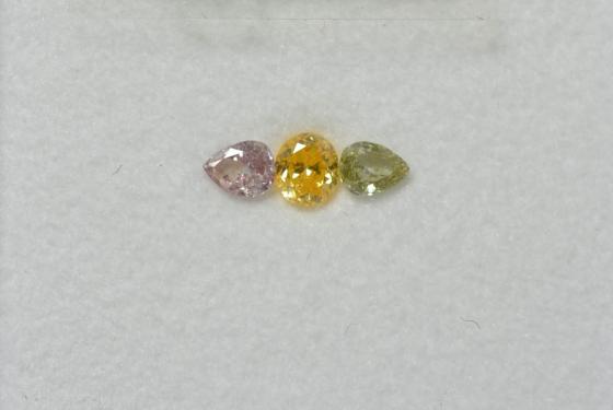 カラフルなカラーダイヤモンド