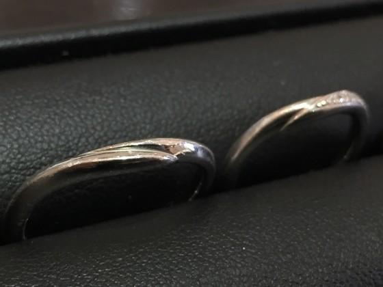 結婚指輪の磨き