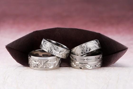 パラジウムの結婚指輪