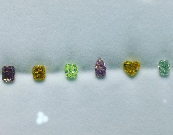 綺麗なカラーダイヤモンド