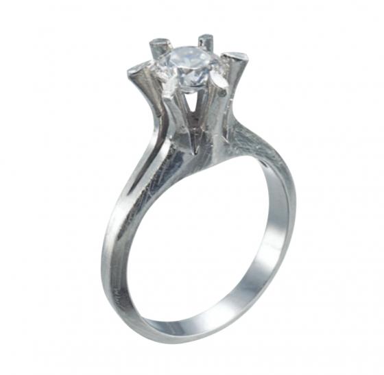立爪婚約指輪