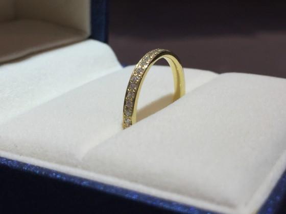 フルエタニティ結婚指輪